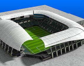 3D asset Banc of California Stadium
