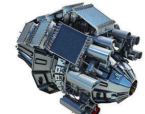 Collector Pod - Space Ship 3D model