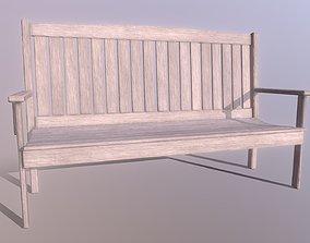 3D asset Superfuntimes Simple Deck Bench