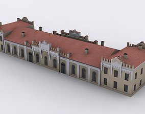 Chudovo Railway station 3D model