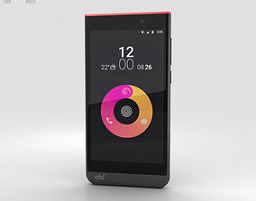 3D worldphone Obi Worldphone SJ1-5 Black-Red