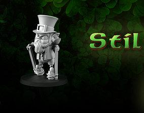 Stilts Leprechaun 3D
