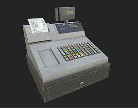 cash register 3D asset VR / AR ready