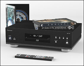Pioneer Blu-ray player 3D