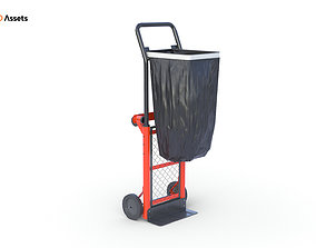 Heavy Duty Folding Cart 3D model