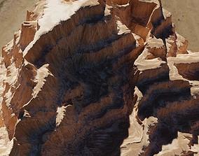 3D model canyon Terrain 4k