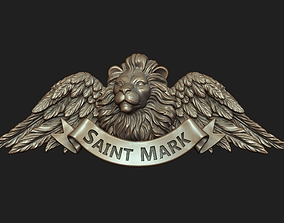 Saint Mark the Evangelist Pendant 3D print model
