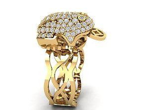 3D print model 230 Lucky Ring