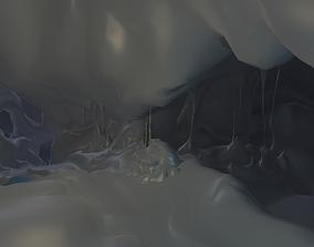 Fantasy Cave 3D asset