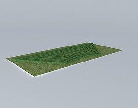 3D Hampton Court Palace Maze