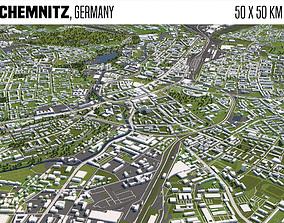 Chemnitz Germany 3D model