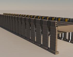 Sci Fi Bridge 3D