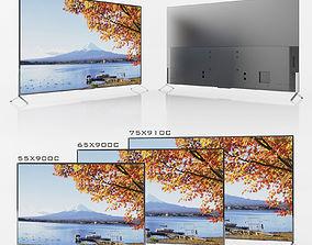 SONY XBR-55x900C XBR-65900C XBR-75910C 3D model