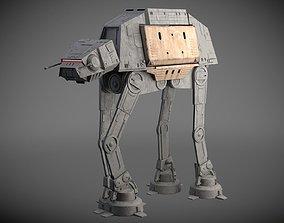 Star Wars AT-ACT Walker 3D rigged