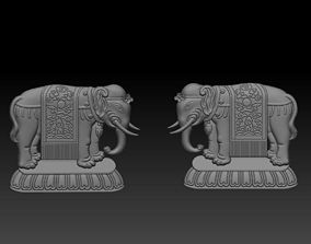elephant decoration 3D printable model