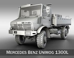3D Mercedes Benz Unimog U1300L bundeswehr