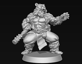 3D print model fighter Orc Monk