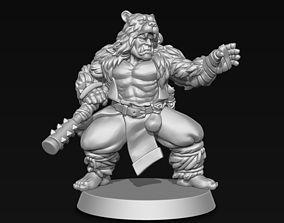 Orc Monk 3D print model
