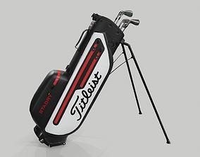 3D Titleist Plus StaDry Golf Bag Players 4