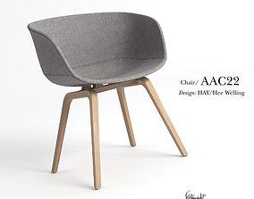 AAC22 Chair 3D model