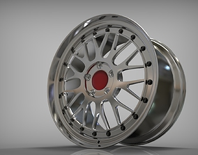 auto 3D Car rim 19 inch