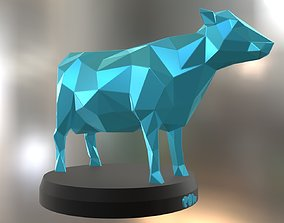 Poly Cow 3D print model
