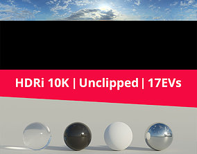 3D model Hdri Sky 003