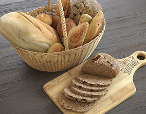 3D model Bread Basket