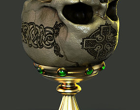 Skull cup 3D print model death