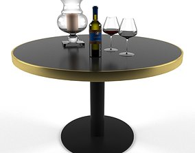 3D Table AIDA and Charleston Hurricane-Vase