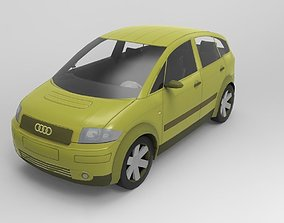 car Audi A2 3D model