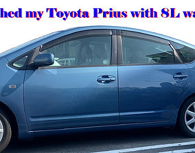 I washed my Toyota Prius with 8 L water 3D print model