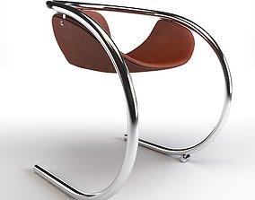comfortable Circle Chair 3D