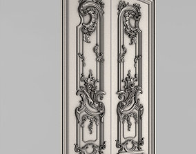 Carved door leaf - Peterhof 3D printable model