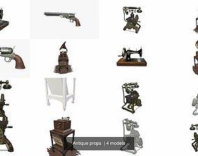 3D model Antique props