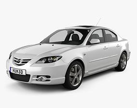 Mazda 3 sedan S 2005 3D