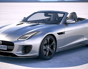 3D Jaguar F-Type 400 sport Convertible 2018