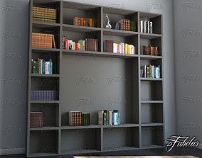 storage Bookshelf 3D model