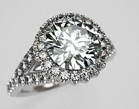 Bomb engagement ring 3D print model