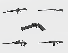 3D print model Sniper guns of our time