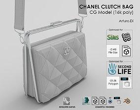 Chanel Clutch bag 3D