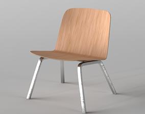 3D asset Lounge Chair