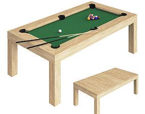 3D Modern pool table