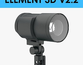 E3D - Camera Flash Head