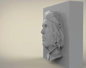 Guevara bas-relief 3D model