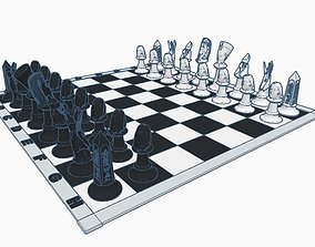 Chess Set Pharaon 3D printable model