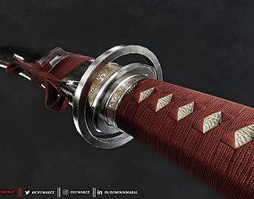 3D model Katana Sword - Honjo Masamune - Realistic Game 1