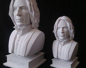 3D printable model Severus Snape Alan Rickman Half-blood 2