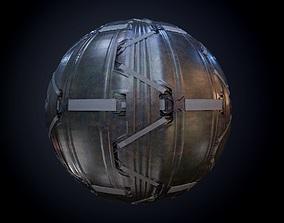 3D Sci-Fi Military Seamless PBR Texture 57