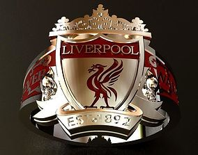 Liverpool RING We will Never walk alone 3D printable model
